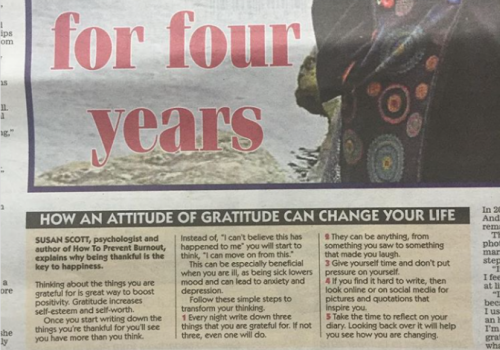 Daily Express - How An Attitude Of Gratitude Can Change Your Life