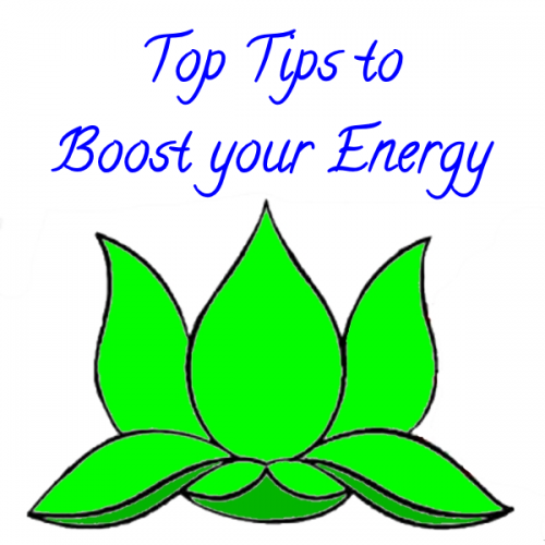 Top Tips  To Boost Your Energy