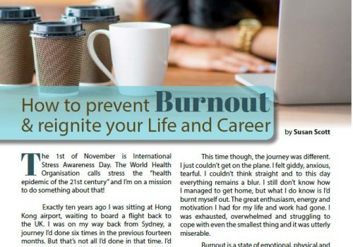 Health Triangle - How To Prevent Burnout